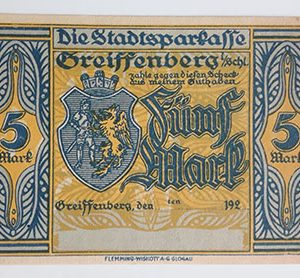 Foreign banknote of the beautiful design of NetGold, Germany-nyn