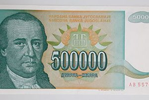 Foreign currency of Yugoslavia-ymm