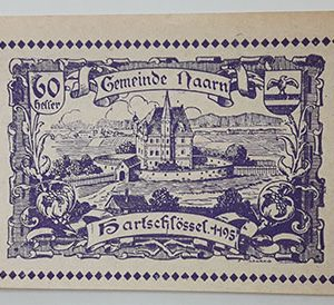 Foreign banknote of the beautiful design of Net Gold in Germany in 1920-yjj