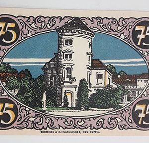 Foreign banknote of the beautiful design of Net Gold in Germany-yoo