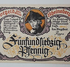Foreign banknote of the beautiful design of Net Gold in Germany-oyo