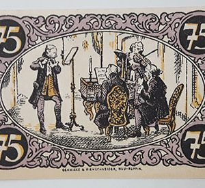 Foreign banknote of the beautiful design of Net Gold in Germany-uxx