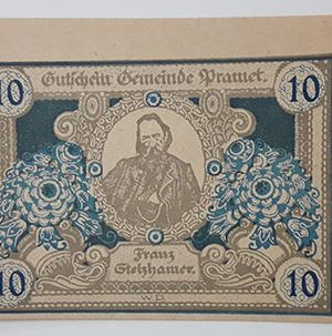 Foreign banknote of different and beautiful design of Net Gold of Germany (100 years old)-pqq