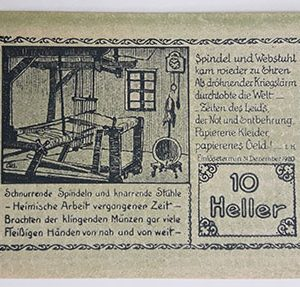 Foreign banknote of the beautiful design of Net Gold in Germany-pmm
