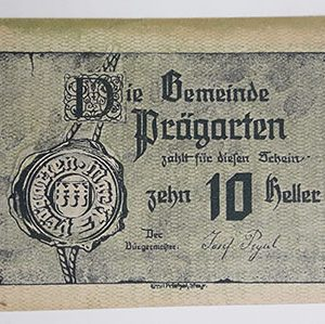 Foreign banknote of the beautiful design of Net Gold in Germany-mpm
