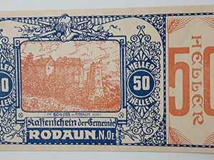 Foreign banknote of the beautiful design of Net Gold in Germany (100 years old)-oii
