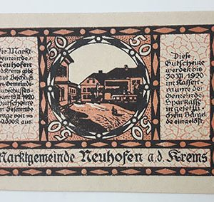 Extraordinarily beautiful foreign banknote from Net Gold, Germany, 1920-occ