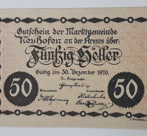 Extraordinarily beautiful foreign banknote from Net Gold, Germany, 1920-coc