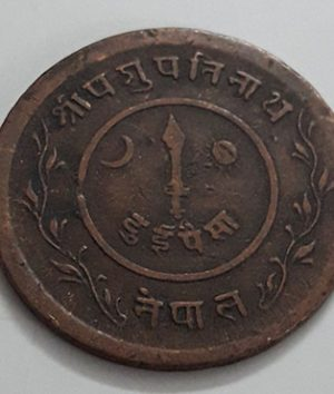 Extremely rare and valuable foreign coin of the Indian state of India (high antiquity)-iss