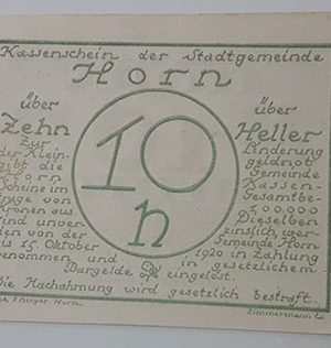 Foreign banknote of the beautiful design of Net Gold in Germany in 1920-mim