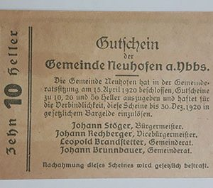 Foreign banknote of the beautiful design of Net Gold in Germany (100 years old)-mam