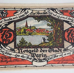 Foreign banknote, very beautiful design of Net Gold, Germany, 1922-bbz