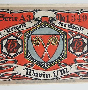 Foreign banknote, very beautiful design of Net Gold, Germany, 1922-zbz