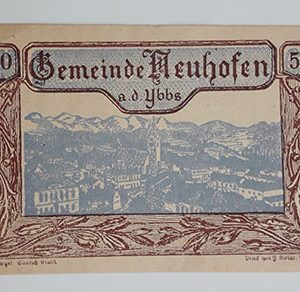 Foreign banknote of the beautiful design of Net Gold in Germany-aan