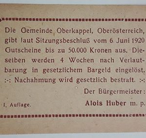 Foreign banknote of the beautiful design of Net Gold in Germany (100 years old)-fpf