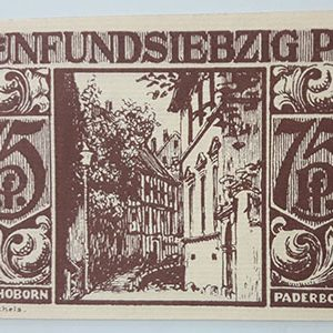 Foreign banknote, beautiful and rare design of Net Gold, Germany, 1921-pvv