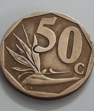South African coin of 2008-lws
