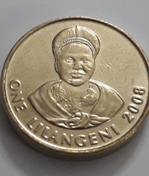 The beautiful and rare foreign coin of Swaziland in 2008-osx