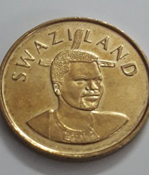 The beautiful and rare foreign coin of Swaziland in 2010-qwe