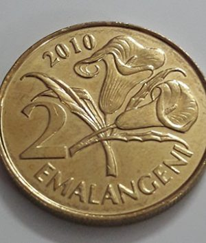The beautiful and rare foreign coin of Swaziland in 2010-ewq
