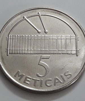 Rare foreign currency of Mozambique in 2006-fgh