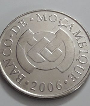 Rare foreign currency of Mozambique in 2006-hgf