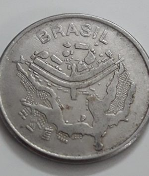 A rare foreign coin commemorating Brazil in 1983-hjk