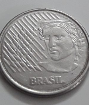 Foreign coin of the beautiful design of Brazil, unit 10, 1994-pqm