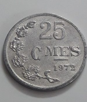 Luxembourg foreign currency 1972-fhw