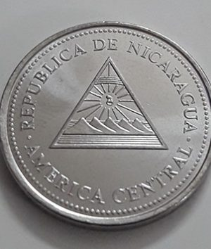 Rare foreign currency of Nicaragua in 1997-gme