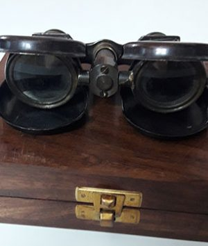 Old collectible folding and pocket metal camera over 100 years old with original box-vfr