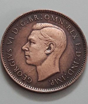 Foreign currency of the British King George VI in 1945-bab