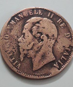 Italian foreign coin 1867-saa