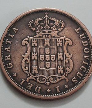 Extremely rare foreign coin of Portugal in 1868-gaa