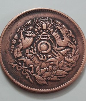 Extremely rare and valuable foreign coin of China, the image of a dragon with a history of over 100 years-paa