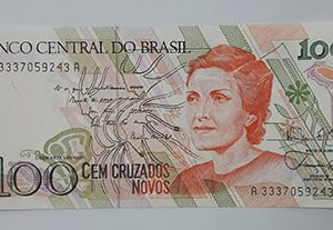 Foreign banknote of beautiful design of Brazil (banking quality)-qhh