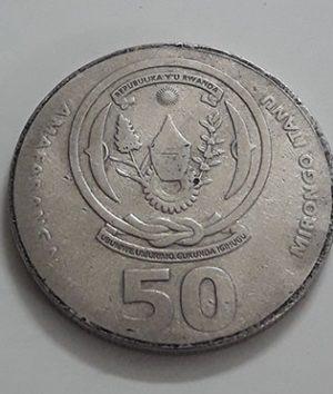 Rwanda foreign currency 2002-iqi