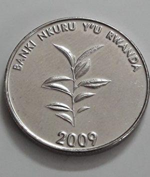 Rwanda foreign currency 2009-zwz