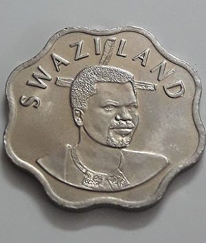 A very rare and valuable foreign coin of Swaziland, unit 10, 2003-wgg