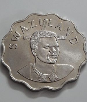 Foreign coin A very rare and valuable design of Swaziland in 2002-whh