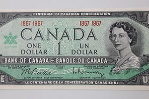 Extremely Rare and Valuable Foreign Bank of Canada 1967 (Banking Quality)-qvv