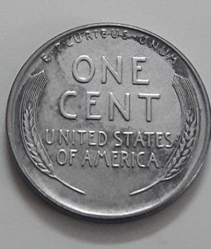 Rare collectible foreign coin of a traditional American steel 1943 D Lincoln image-pup