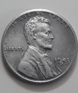 Rare collectible foreign coin of a traditional American steel 1943 S Lincoln image-ixx