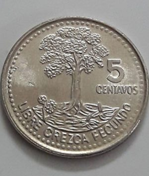 Guatemala Small Size Collectible Foreign Coin 2008-ikk