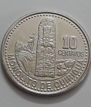 Guatemala Rare Collectible Foreign Coin 2008-iee