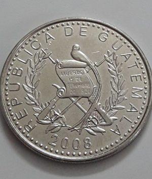 Guatemala Rare Collectible Foreign Coin 2008-eie