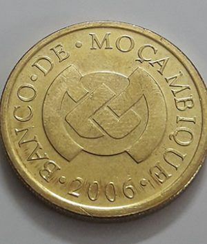 Collectible foreign coins of the beautiful design of Mozambique in 2006-jyj