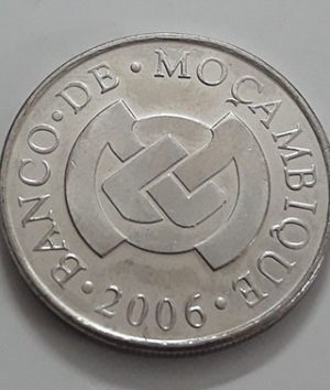 Collectible foreign coins of the beautiful design of Mozambique in 2006-wyw