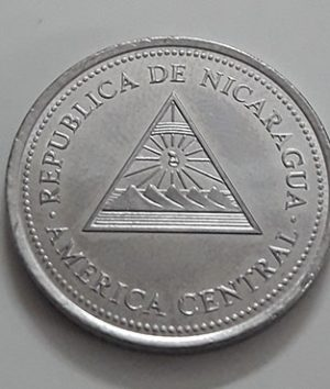 Collectible foreign coin of the rare design of Nicaragua in 1997-yuu