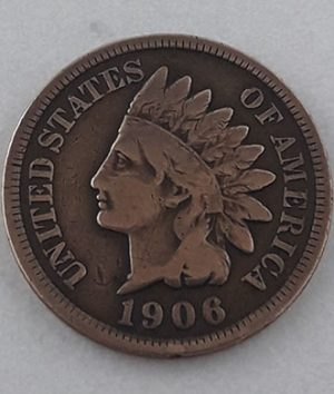 Collectible foreign coins of a traditional American country known as American Indian coins-drn